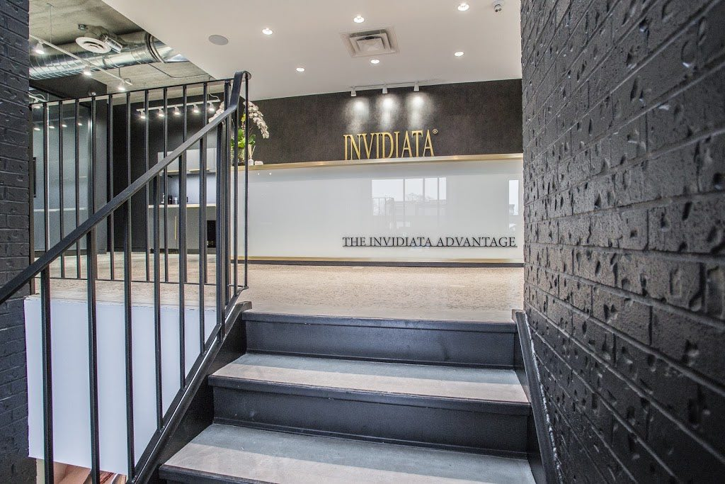 Invidiata Team Office entrance and reception desk